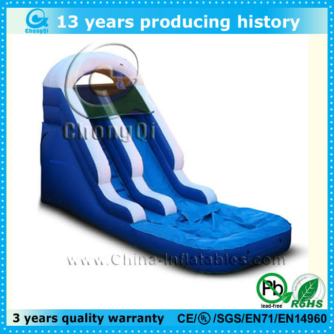 2014 backyard cheap inflatable water slides for sale