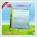 titanato de litio recargable de la batería para tablet pc