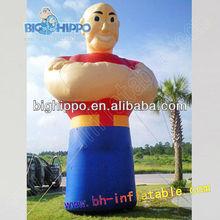 inflatable people cartoon