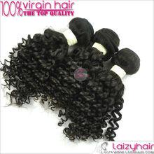 Virgin Hair Weft Natural Brazilian Hair Weave Bag