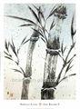 Alta qualidade pure mão- pintado pintura a óleo pintura decorativa da parede de bambu