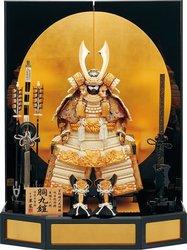 Japanese Samurai Warrior Armor Helmet Kabuto Figures
