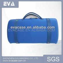 2013 OEM customize single EVA leather wine carrier