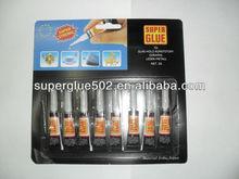 cyanoacrylate adhesive, super glue, instant adhesive