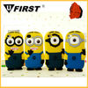 for iphone 5 Cell phone Minions silicone cover case, Despicable Me, Mobile phone case for apple iphone 5