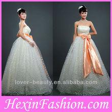 Lover-Beauty Wonderful Long Pearl Lace Wedding Dress Patterns