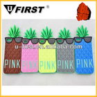 Mobile phone soft cover case for apple iphone 5, pineapple case, soft and colorful