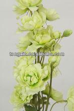 valentine xmas flores artificiales venta al por mayor delphinium