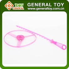 plastic toys flying saucer,kids plastic toy flying saucer,pull string flying toy