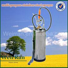 (100340) high quality multipurpose shoulder garden stainless steel 8l pressure sprayer garden