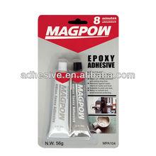 Excellent 8 min black&white epoxy adhesive.Environmental Economical Strong epoxy stick,China factory of epoxy glue
