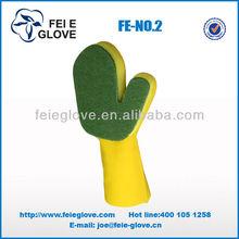 sponge cleaning film household latex coated glove