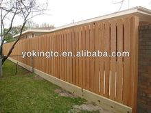 Cedar wood fence panels dog ear pickets for garden fence