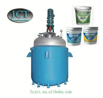 JCT adhesive trowel making reactor