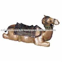 Metal Brass Camel statue