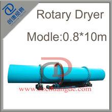 Good Performance and High Effiency Cassava/ Cassava Chips Rotary Dryer Machine