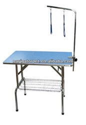 Foldable and Durable Pet Hairdresser Table
