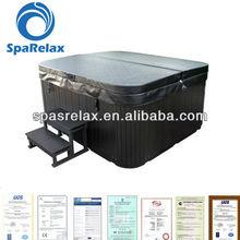 2012 acrylic bathtub simple bathtub/Whirlpools for 6 person--A512