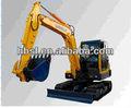 6 ton excavadora de número de serie jh60b-7