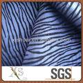 nylon tecido rebanho rebanho tafetá de damasco para a roupa do bebê