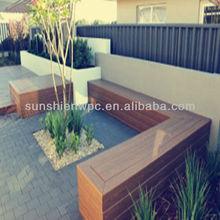 sunshien di alta qualità sintetico di plastica legno rivestimento della parete di ponte