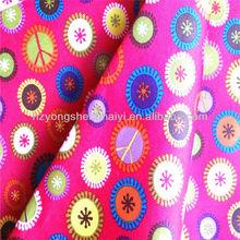 400d tropical printed fabric handbag cloth baby oxford fabric
