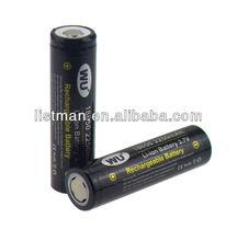 Original WU IMR 18650 2250mAh 3.7V High Drain Li-Mn Battery with falt top (1pc)