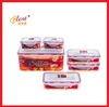 5000ml food grade plastic storage bin set