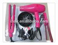 Rucha marca profesional secador de pelo y set de plancha, secador de pelo plancha