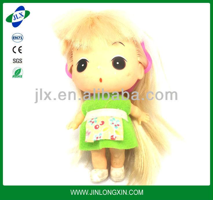 Japón mini muñeca/ropa de la muñeca pantalla/hechos a mano muñecas de tela