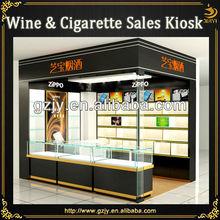 antique cigarette display case for retail store furniture design