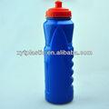 novo azul de plástico da garrafa de água
