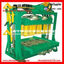 cement making machine small machine to make money QTJ 4-60 low investment high profit cement concrete block brick making machine