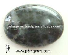 Semi Precious Gemstone Oval Black Opal