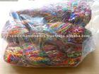 Sari Silk Ribbon Yarns in Balls