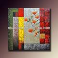 handmade arte da parede decoração textured078