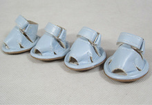 Dog sandals, shoes for small dogs, Orange, skyblue, violet, coffe, sizes 2 to 8