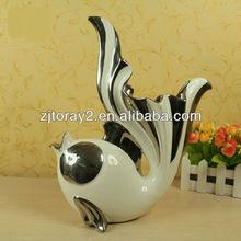 NEM Fashion Goldfish ceramic ornaments craft,popular home decoration