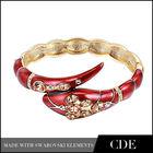 18k gold bracelet jewelry design for girls snake bangle