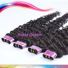 Cheapest 4A 3Pcs/Lot Sale Russian Deep Curl Human Hair Extension