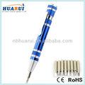 8 1 tornavida Kalem aracını Mavi