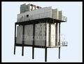 container di ghiaccio del fiocco macchina per il calcestruzzo rastrello di raffreddamento di tipo