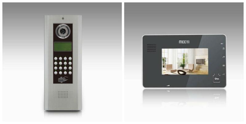 multi apartment video door phone system intercom system