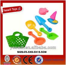 Best plastic mini sand beach toys for kids(7PCS)