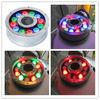 new design 12V/110V/220v input IP68 stainless steel led fountain light ring