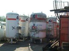 Storage tanks for CO2, O2, N2, Argon