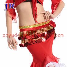 Belly dance beaded belt Indian belly dance tassel belt shinning beaded belly dance belt Y-2024#