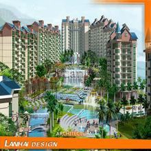 Popular Style for Summer Resort Design