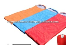Summer sleeping bags with cap