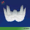 para crianças e adultos de penas brancas asas de anjo